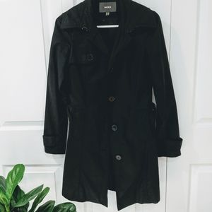 Mexx black trench coat